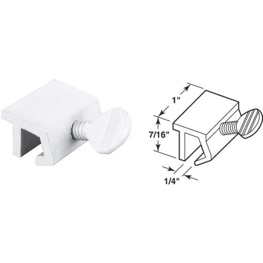Defender Security White Heavy-Duty Sliding Window Lock (2 Count)
