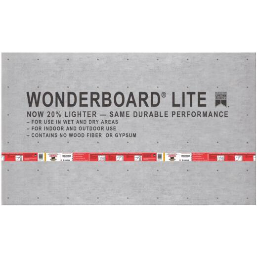 Wonderboard 7/16 In. x 36 In. x 60 In. Backerboard