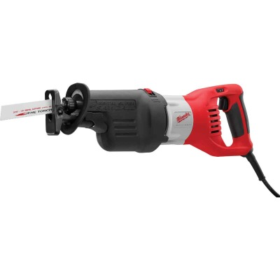 Milwaukee Sawzall 15-Amp Orbital Reciprocating Saw Kit