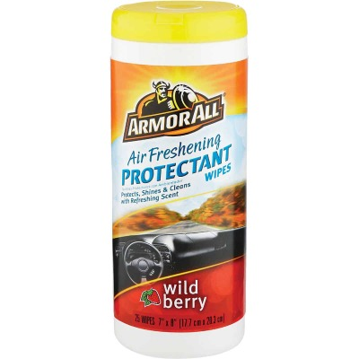 Armor All Wild Berry Scent Protectant Wipe
