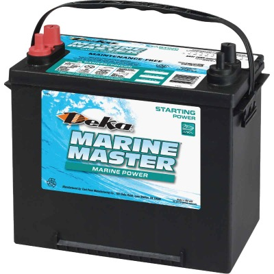 Deka Marine Master 12-Volt 550 CCA Starting Marine/RV Battery, Left Front Positive Terminal