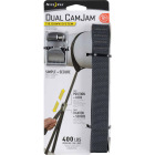 Nite Ize Dual CamJam 1 In. x 12 Ft. 400-Lb. Working Load Limit Tie-Down Strap Image 1