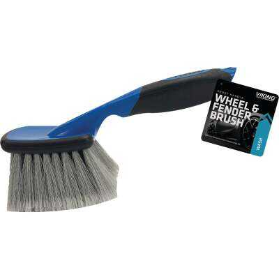 Viking Short Handle Wheel & Bumper Wash Brush