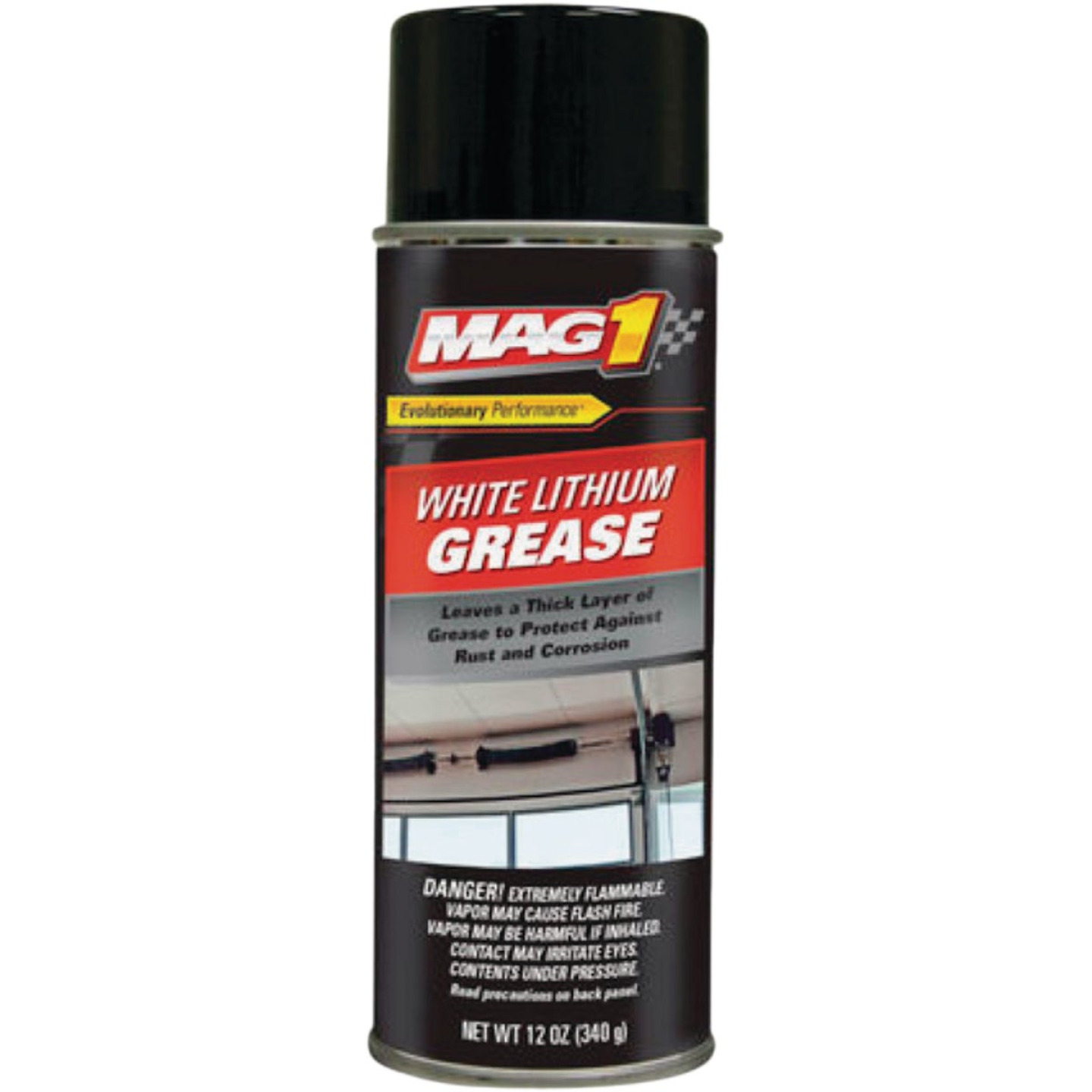 LubriMatic 12 Oz. Aerosol White Lithium Grease Image 1