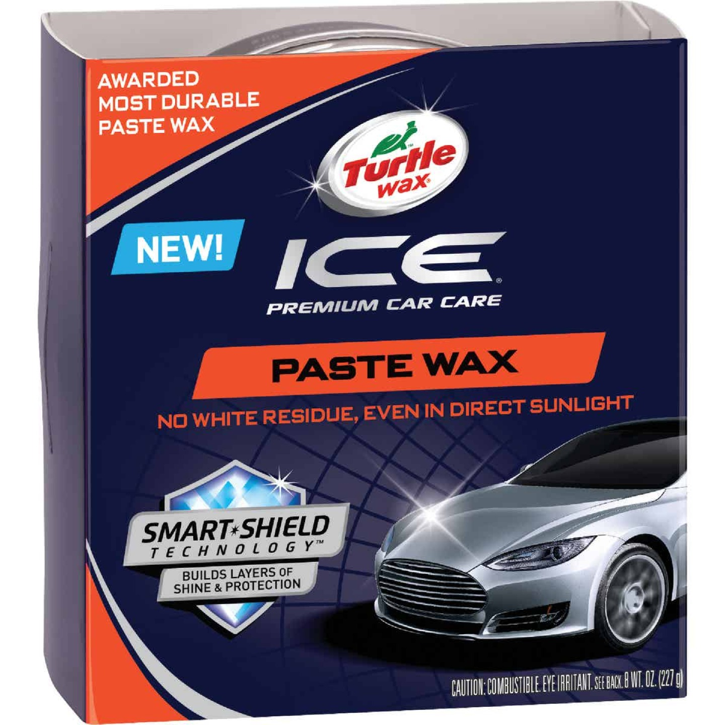 Turtle Wax ICE 8 oz Paste Car Wax Image 1