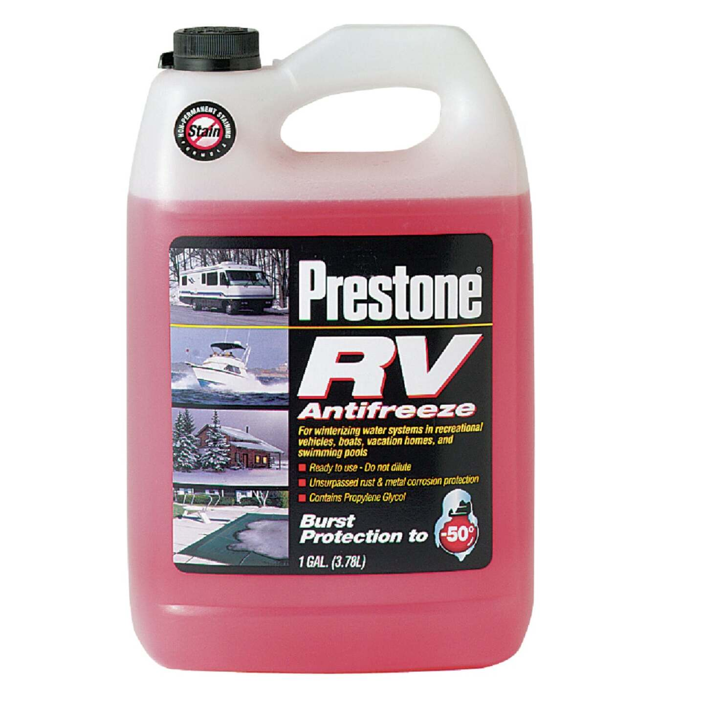 Prestone Gallon -50 Deg F RV and Marine Antifreeze Image 1