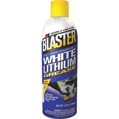 Blaster 11 Oz. Aerosol High-Performance White Lithium Grease