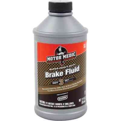 MotorMedic 12 Oz. Super Heavy-Duty DOT 3 Brake Fluid
