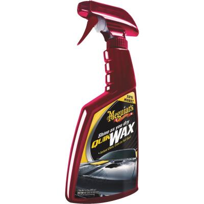 Meguiars Quik Wax 24 Oz. Trigger Spray Car Wax