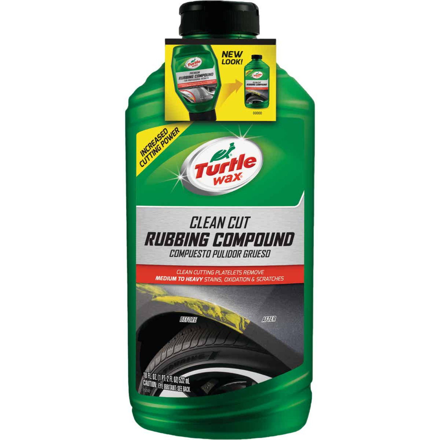 Turtle Wax RENEW Rx 18 oz Liquid Rubbing Compound Image 1