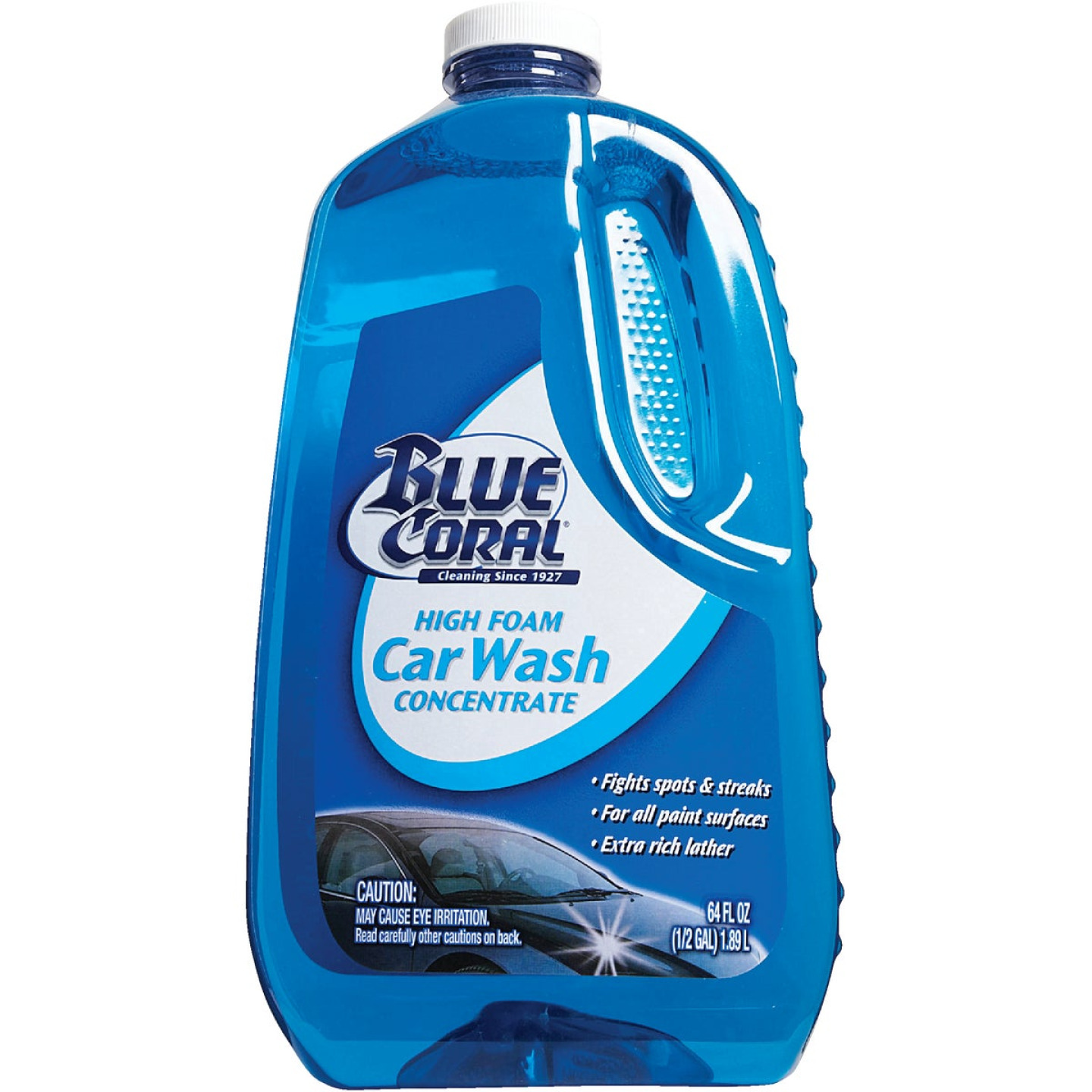 Blue Coral 64 Oz. Liquid High Foam Concentrate Car Wash Image 4