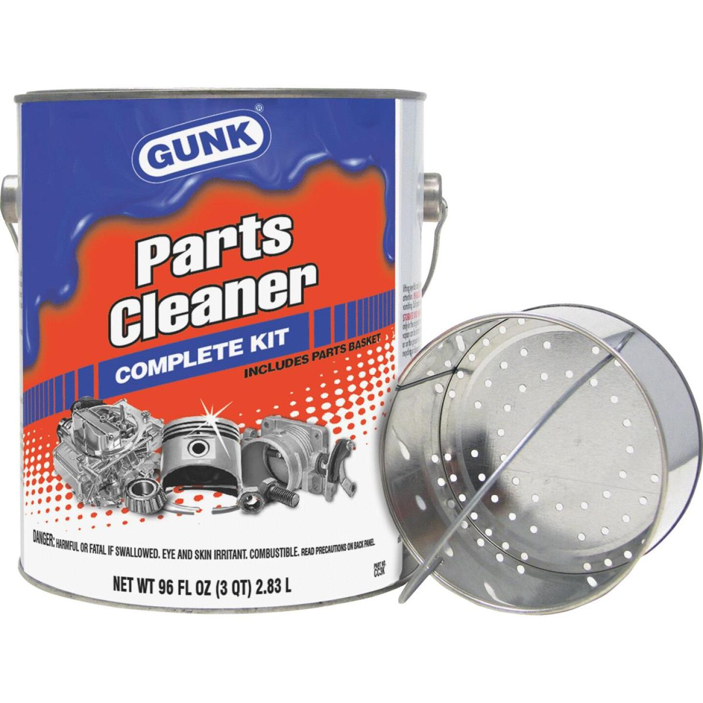 Gunk 3 Qt. Liquid Parts Cleaner Image 1