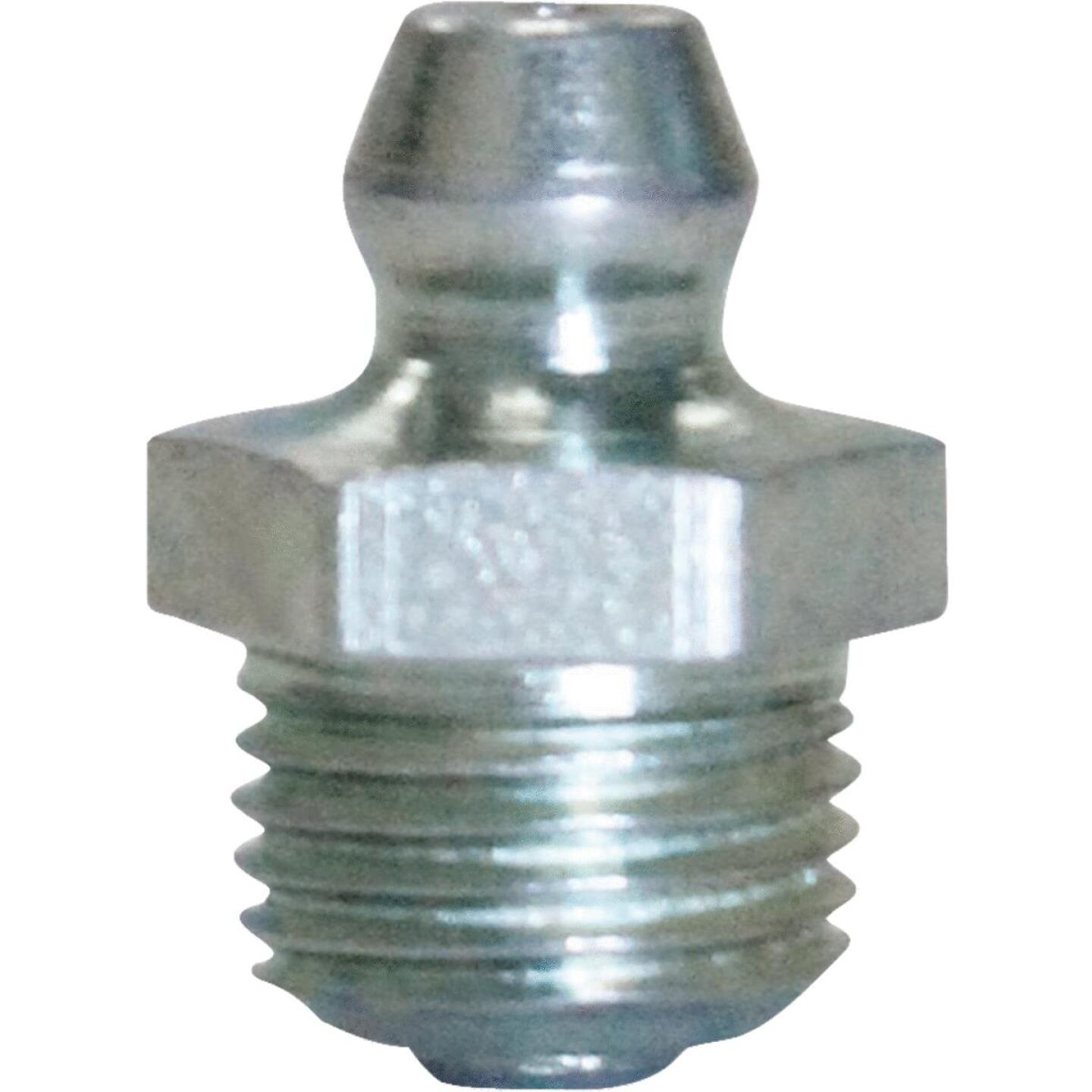 "Plews Lubrimatic Straight, Short 1/8"" Grease Fitting Image 1"