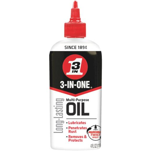 3-IN-ONE 4 Oz. Drip Can Multi-Purpose Lubricant