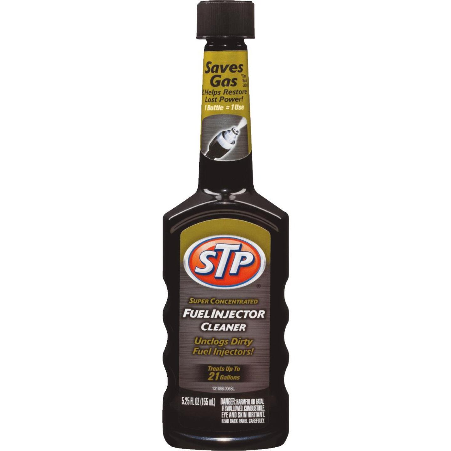 STP 5.25 Fl. Oz. Fuel Injector Fuel System Cleaner Image 1