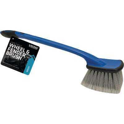Viking Long Handle Wheel & Bumper Wash Brush