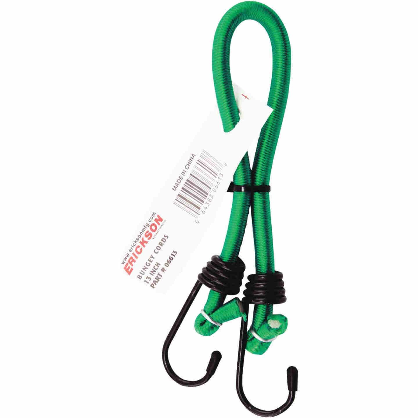 Erickson 1/4 In. x 13 In. Bungee Cord, Assorted Colors Image 2