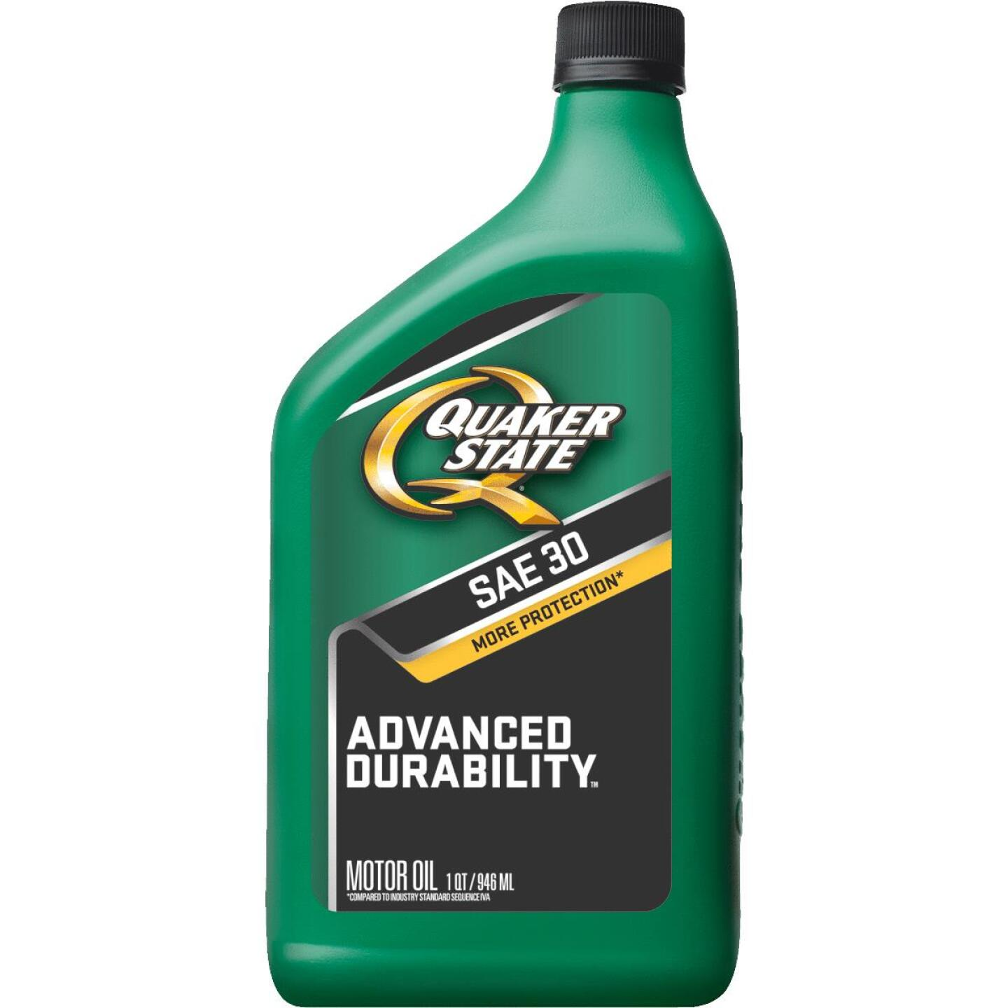 Quaker State HD30 Quart Heavy-Duty Motor Oil Image 1
