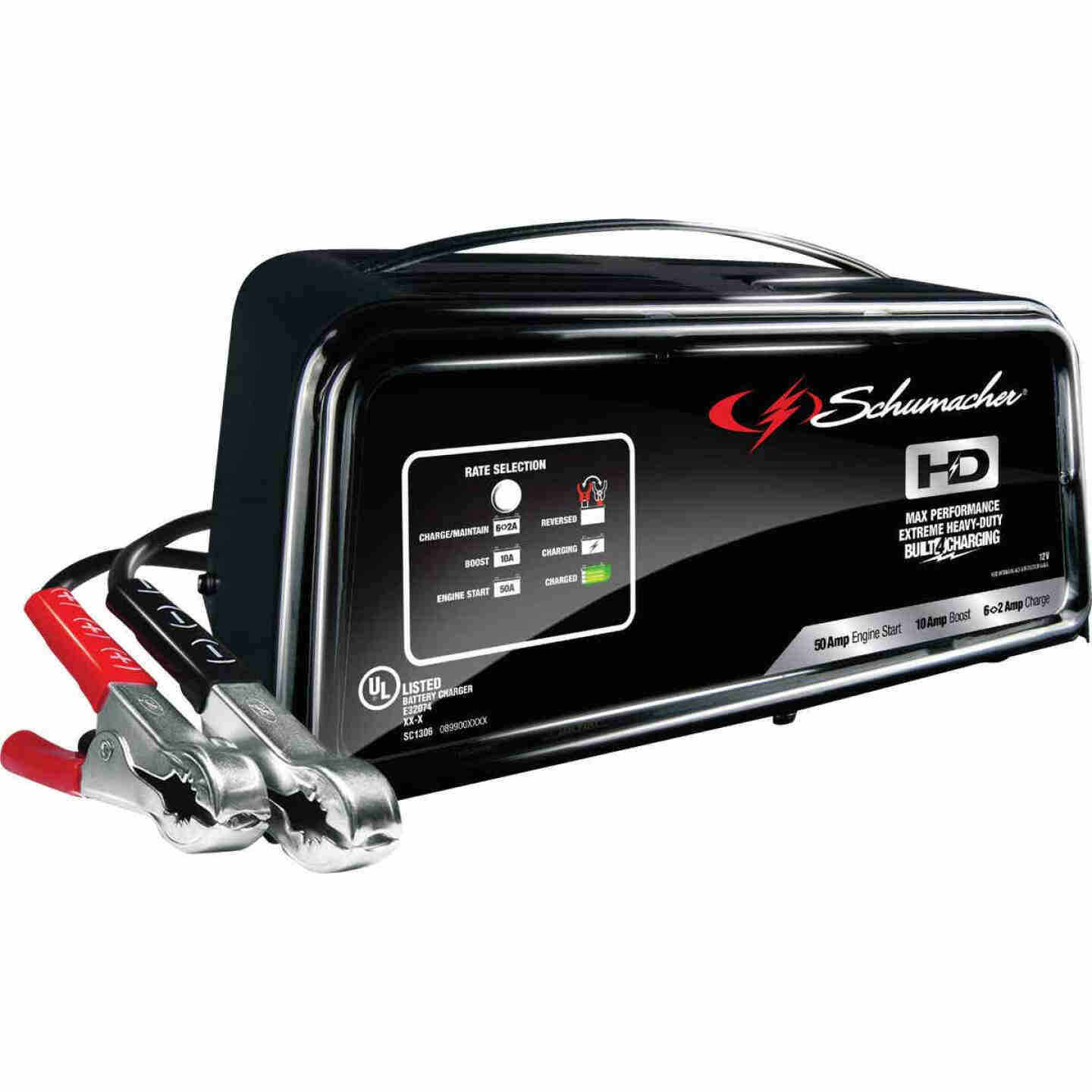 Schumacher 50 Amp Automatic Battery Charger Image 1