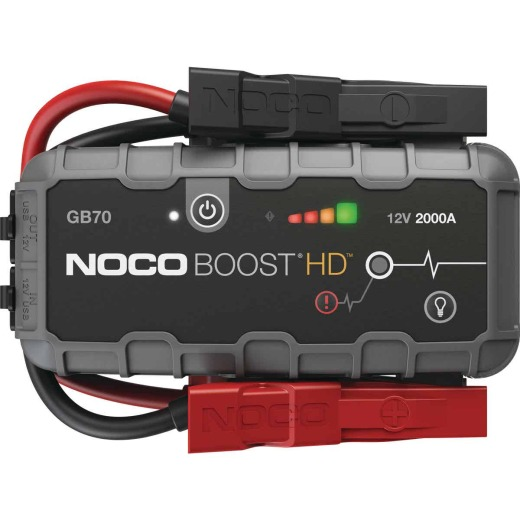NOCO Boost HD 2000 Amp 12-Volt UltraSafe Lithium Jump Start System