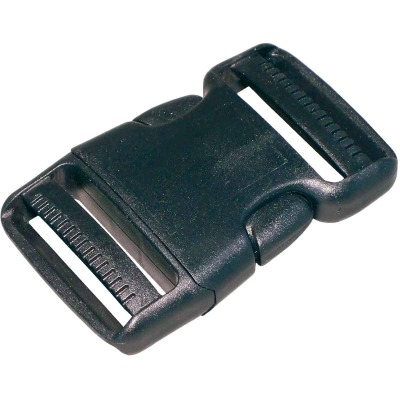 "Turf 2"" Black Strap Buckle"