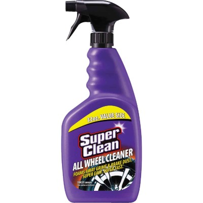 Superclean 32 Oz. Trigger Spray Wheel Cleaner