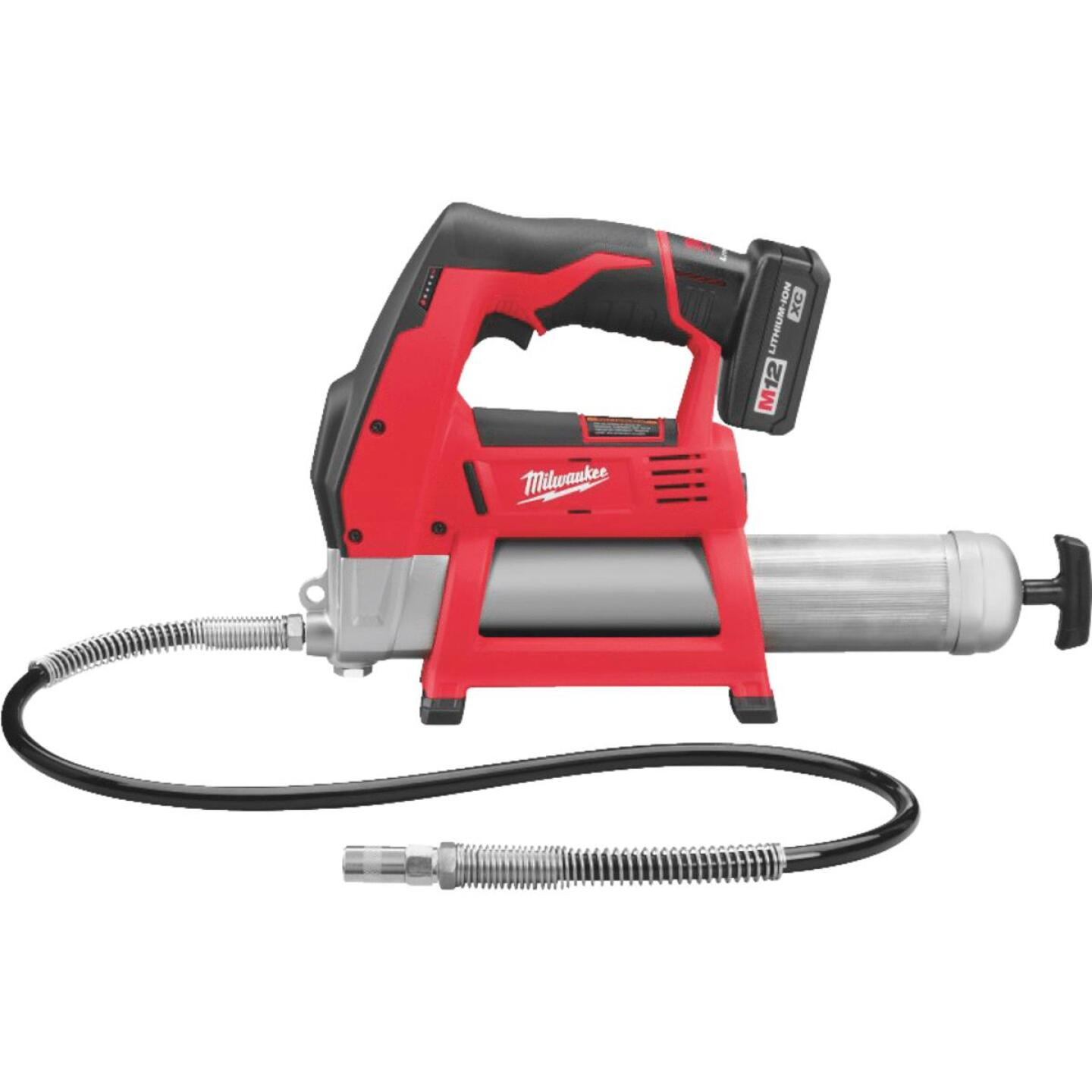 Milwaukee M12 12-Volt Lithium-Ion Cordless Grease Gun Kit Image 1