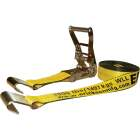 Erickson 2 In. x 27 Ft. 10,000 Lb. Ratchet Strap with Flat Bed Hook Image 1