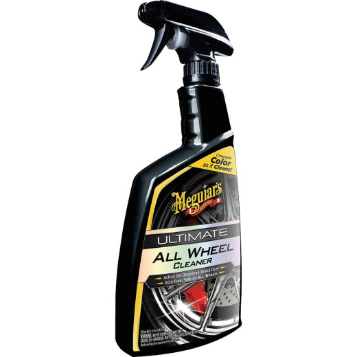 Meguiar's 24 Oz. Trigger Spray Gel Ultimate All Wheel Cleaner