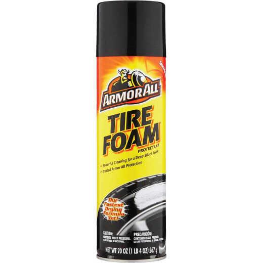 Armor All 20 Oz. Aerosol Spray Foam Protectant Tire Cleaner