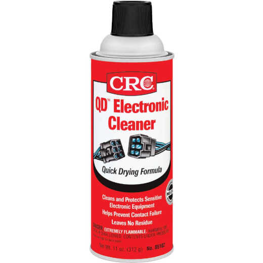 CRC 11 Oz. Aerosol QD Electronic Parts Cleaner