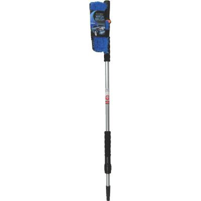 Viking 10 In. Deluxe Flo-Thru Wash Brush with 40 In. to 66 In. Telescoping Handle
