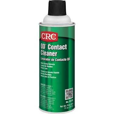 CRC 11 Oz. Aerosol QD Contact Electronic Parts Cleaner