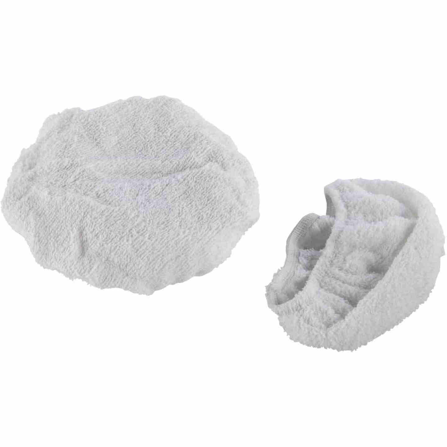 "Auto Spa 7"" To 8"" Washable Cotton Polishing Bonnet, (2-Pack) Image 1"