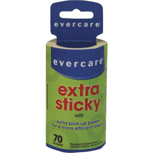 Evercare Extra Sticky Lint Roller Refill