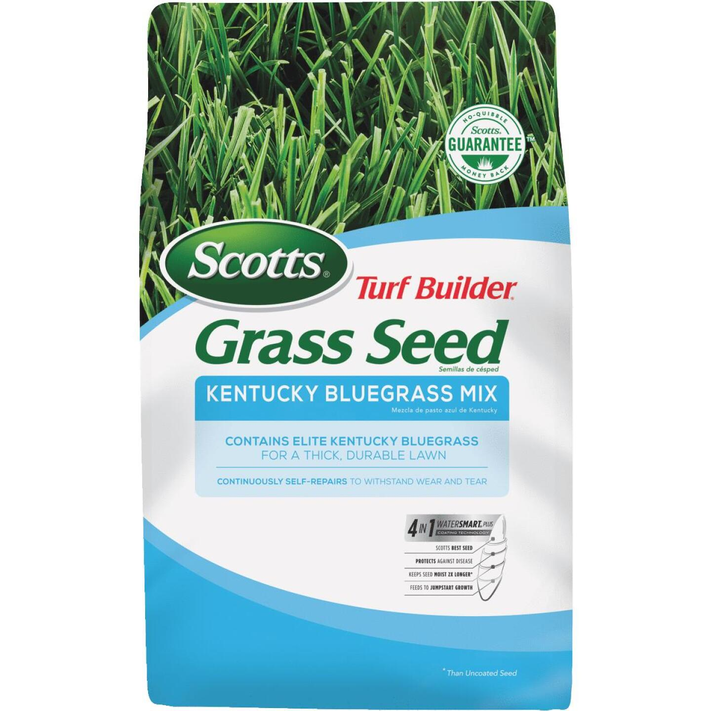 Scotts Turf Builder 7 Lb. Up To 4725 Sq. Ft. Coverage Kentucky Bluegrass Grass Seed Image 1