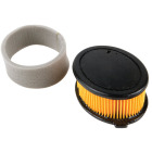 Arnold MTD 208 CC Paper Engine Air Filter with Pre-Cleaner Image 1
