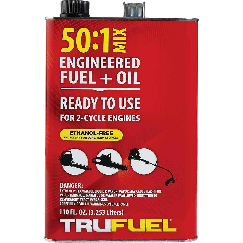 TruFuel 110 Oz. 50:1 Ethanol-Free Small Engine Fuel & Oil Pre-Mix Image 2