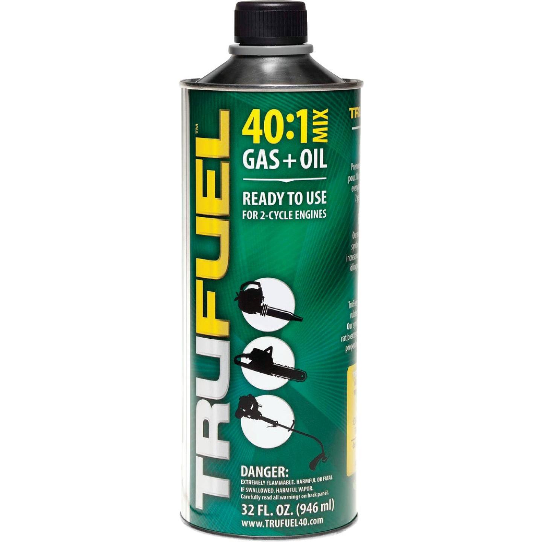 TruFuel 32 Oz. 40:1 Ethanol-Free Small Engine Fuel & Oil Pre-Mix Image 1