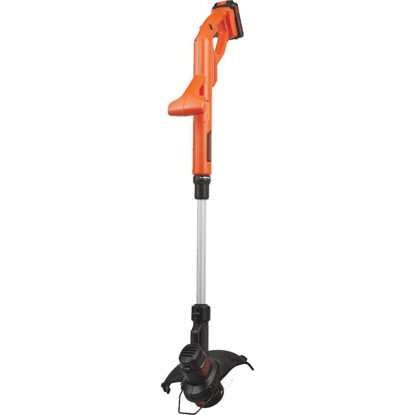 Black & Decker 20V MAX 10 In. Lithium Ion Straight Cordless String Trimmer/Edger Image 6