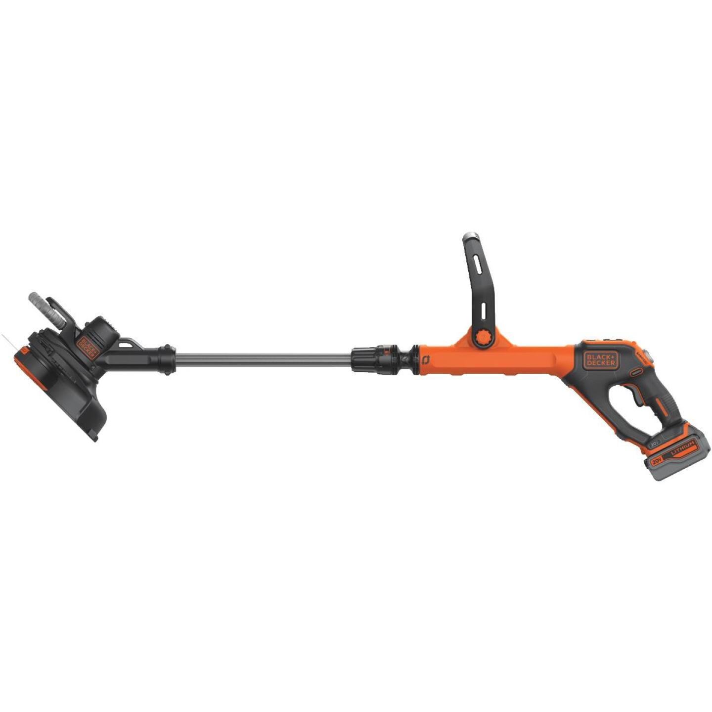 Black & Decker EasyFeed 20V MAX 12 In. Lithium Ion Straight Cordless String Trimmer/Edger Image 1
