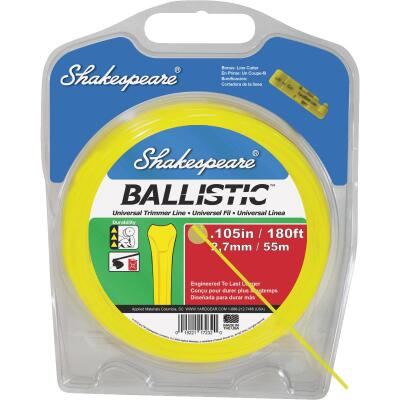 Shakespeare Ballistic 0.105 In.x 245 Ft. Universal Trimmer Line