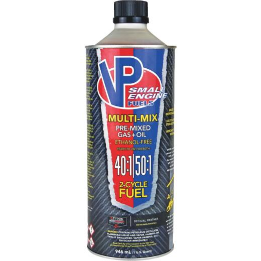VP Small Engine Fuels 32 Oz. 40:1/50:1 Ethanol-Free Multi-Mix Gas & Oil Pre-Mix