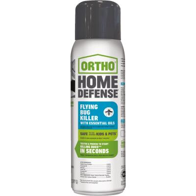 Ortho Home Defense 14 Oz. Aerosol Spray Flying Bug Killer with Essential Oils
