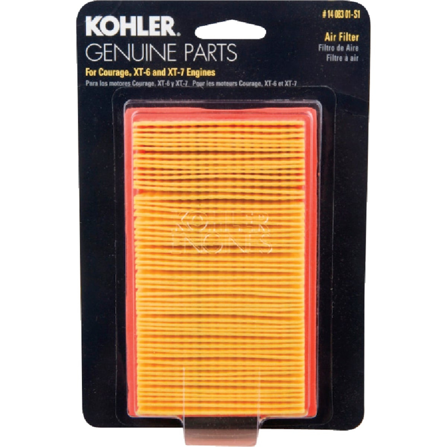 Arnold Kohler 3.5 To 4.5 HP Paper Engine Air Filter Image 1