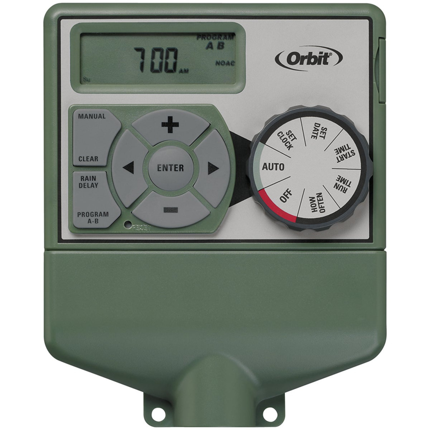 Orbit Easy Dial 4-Station Indoor Hardwired Sprinkler Timer Image 1