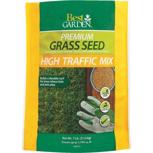 Best Garden 7 Lb. 3000 Sq. Ft. Coverage High Traffic Grass Seed