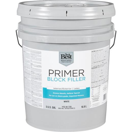Do it Best Latex Masonry Block Filler, 5 Gal.